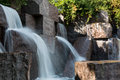 Waterfall at the fdr memorial a graces in washington dc Stock Photo