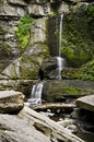 Waterfall, Filmore Glen State Park, Moravia, NY Royalty Free Stock Image