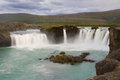 Waterfall Godafoss Royalty Free Stock Photos