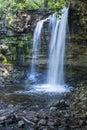 Waterfall in halton ontario canada Royalty Free Stock Image