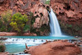 Waterfall Havasu Royalty Free Stock Photos