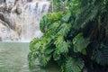 Waterfall In The Jardin Botani...