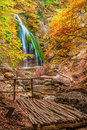 Waterfall Jur-Jur, Crimea, Ukraine Stock Image