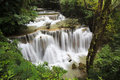 Waterfall in Kanchanaburi Royalty Free Stock Photography