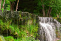 Waterfall in Keila, Estonia Royalty Free Stock Photo