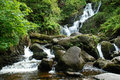 Waterfall in Killarney Stock Image