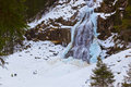 Waterfall Krimml - Tirol Austria Stock Images