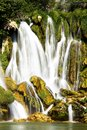 Waterfall at krkavica river bosnia Stock Image