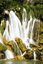 Waterfall at krkavica river bosnia Stock Image
