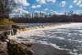 Waterfall in Kuldiga, Latvia Royalty Free Stock Photo