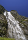 Waterfall in lauterbrunnen valley in the bernese oberland switzerland Royalty Free Stock Photos