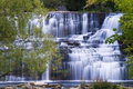 Waterfall in Lockport Stock Images