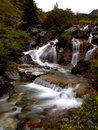 Waterfall on long exposition effect the beautiful Royalty Free Stock Images