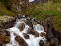 Waterfall on long exposition effect a wonderfull Royalty Free Stock Photography