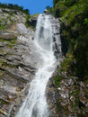 Waterfall lushan mountains jiangxi province china Royalty Free Stock Photos