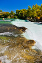 Waterfall Manavgat at Turkey Royalty Free Stock Images