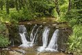 Waterfall massif des maures provence southern france europe Royalty Free Stock Photography