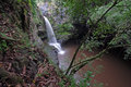 Waterfall maui hawaii nice secluded in Stock Photo