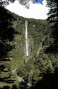 Waterfall in New Zealand Stock Images