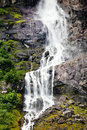 Waterfall of Norway Stock Image