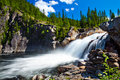 Waterfall of Norway Royalty Free Stock Photo