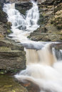 Waterfall in the Peak District National Park Royalty Free Stock Photo