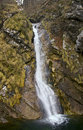Waterfall at Pekel, Slovenia Royalty Free Stock Image