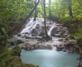 Waterfall in Phangnga Thailand Royalty Free Stock Photo