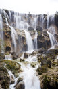 Waterfall picture of beautiful of running water Stock Images