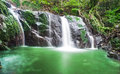 Waterfall in the rain forest thailand Royalty Free Stock Photo