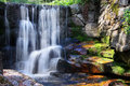 Title: Waterfall  Relaxing Landscape Nature