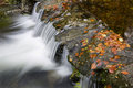 Waterfall river in the portuguese national park of geres in the north of the country Stock Photo