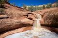 Sedona Arizona Scenic Waterfall Royalty Free Stock Photo