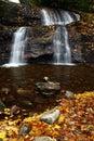 Waterfall - Setrock Creek Falls, NC Royalty Free Stock Photo