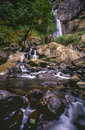 Waterfall Silver Falls Royalty Free Stock Photography
