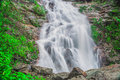 Waterfall silver in sapa of north vietnam Royalty Free Stock Photography