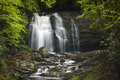 Waterfall in smoky mountain national park this is an image of a creek and tennessee Royalty Free Stock Photo