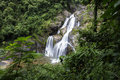 Waterfall in south of thailand Royalty Free Stock Images
