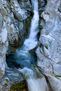 Waterfall spring Royalty Free Stock Photo