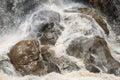 Waterfall Stones Royalty Free Stock Photo