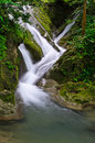 Waterfall stream in Thailand Stock Photos