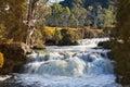 Waterfall in Tasmania Royalty Free Stock Photo