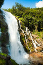 Waterfall in Thailand Royalty Free Stock Photo