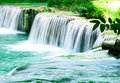 Waterfall in thailand deep forest Royalty Free Stock Photos