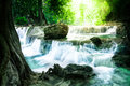 Waterfall in thailand deep forest Royalty Free Stock Photography
