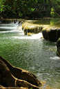 Waterfall in thailand green and fresh Stock Photos