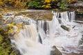 Waterfall on Tinkers Creek Royalty Free Stock Photo