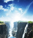 Waterfall victoria Stock Images