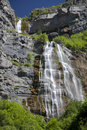 A Waterfall in the Western United States Stock Photography