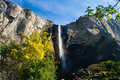 Waterfall in Yosemite National Park Stock Photos
